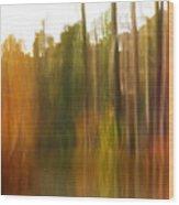 Fall Energy Wood Print