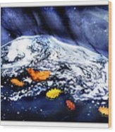 Fall Flotilla Wood Print