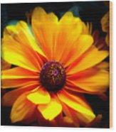 Fall Flower 2.0 Wood Print