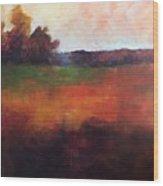 Fall Hunt Wood Print