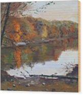 Fall In 7 Lakes Wood Print