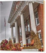 Fall In Jonesborough Tennessee Wood Print
