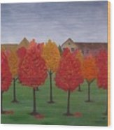 Fall In Markham Wood Print