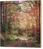 Fall In Monongalia County Wood Print