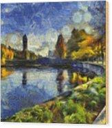 Fall In Riverfront Park Spokane Wood Print