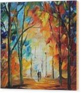 Fall New Original Wood Print