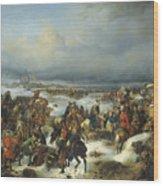 Fall Of Kolberg Wood Print