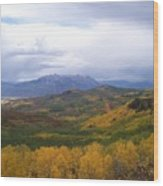 Fall On Mcclure Pass Wood Print