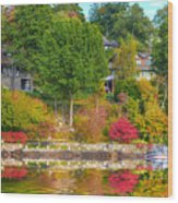 Fall Paradise Wood Print