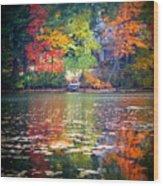 Fall Radiance Wood Print