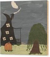 Fall Wood Print