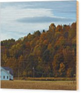 Fall Southeast Ohio Wood Print
