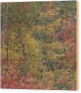 Fall Tapestry Wood Print