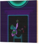 Fall Violet Wood Print