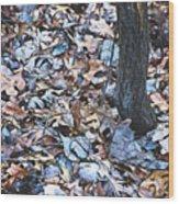 Fallen #1 Wood Print