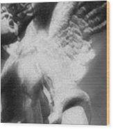 Fallen Angel Vertical Wood Print