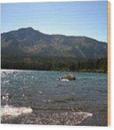 Fallen Leaf Lake - South Lake Tahoe Wood Print