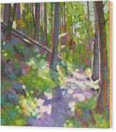Fallen Log Wood Print