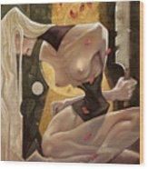 Fallen Queen II - Sorrow Wood Print