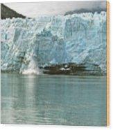 Falling Ice 8421 Wood Print