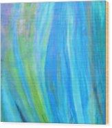 Falling Waters Wood Print