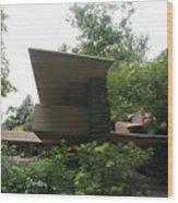 Fallingwater Exterior  Wood Print