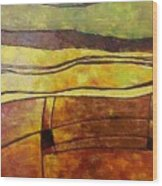 Fallow Ground Wood Print