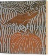 Fall's Call Wood Print