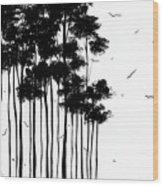 Falls Design 1 Wood Print