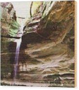 Falls Number 51 Wood Print
