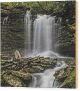 Falls Of Hills Creek 2  Wood Print