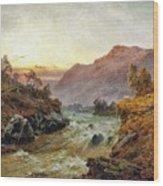Falls Of Leney Wood Print