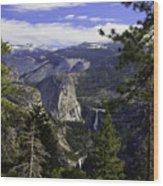 falls of Yosemite Wood Print