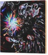 Falon The Magician. Wood Print