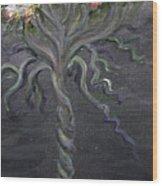 False Teaching Wood Print