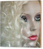 False Tears Wood Print