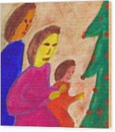 Family Praise Wood Print