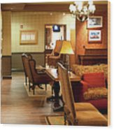 Family Room For Performers Grand Ole Opry House, Nashville, Tennessee Wood Print