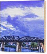 Famous Bridge Wood Print
