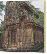 Famous Temple Banteay Srei Cambodia Asia  Wood Print