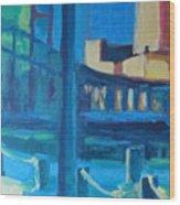 Fan Pier, Boston Wood Print