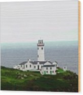 Fanad Head Lighthouse Wood Print