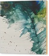 Fancy Feather Wood Print