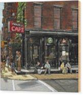 Fanelli Cafe Wood Print