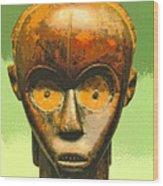 Fang Figure Wood Print