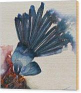 Fantail Flycatcher Wood Print