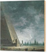 Fantaisie Egyptienne Wood Print