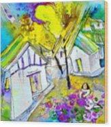 Fantaquarelle 07 Wood Print