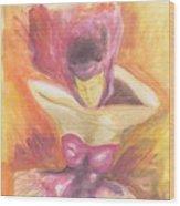 Fantasia De Mujer Wood Print