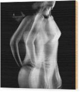 Fantasma Nudo Wood Print